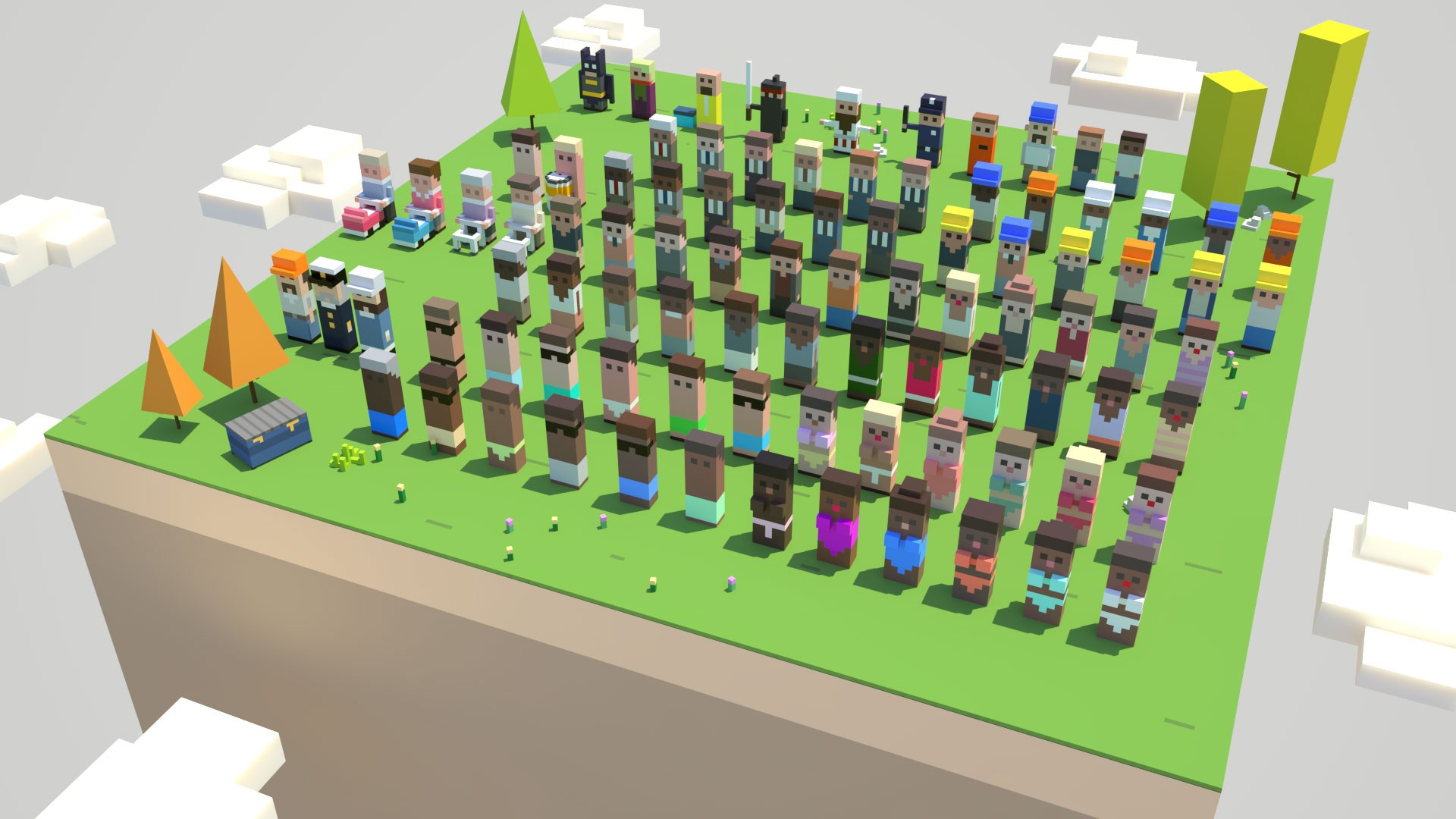 Jens Blank Construction Crew 3D